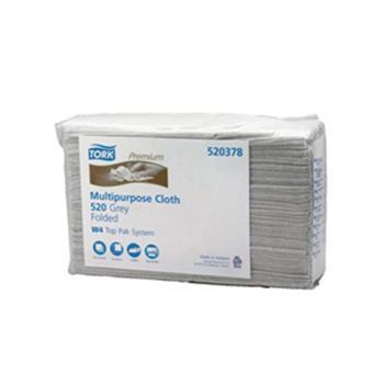 多康 特级工业清洁布折叠式,灰色 (428*385mm ) 140张/包 5包/箱