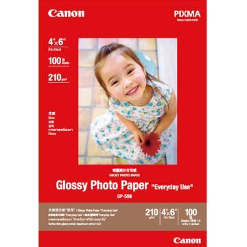 佳能(Canon)光面照片紙, 100張 GP-508 4X6 (100) 單位:個