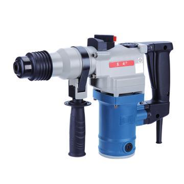 东成方柄电锤,960W 1000r/min,最大钻孔直径28mm,Z1C-FF02-28