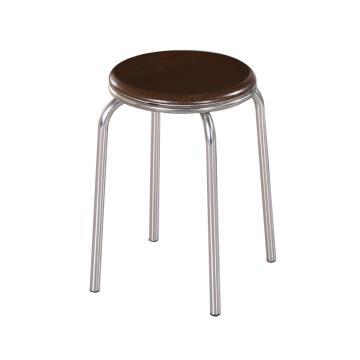 不銹鋼圓凳, 凳面直徑30cm,高46cm