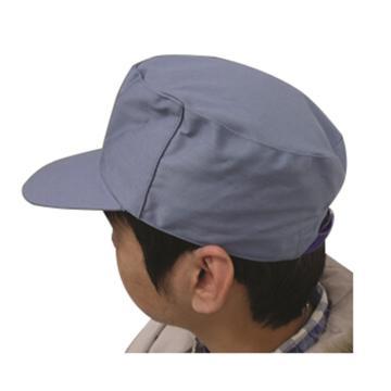 安防 工作帽,65/35,米灰 全棉春秋工作帽