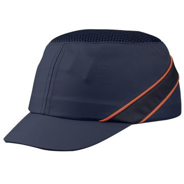 代尔塔DELTAPLUS 运动安全帽,102150,轻型透气防撞 蓝色 帽檐5cm,20顶/箱