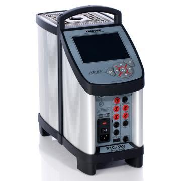 阿美特克/AMETEK PTC-350B專業型干體爐,溫度范圍:33~350℃,含參考探頭輸入/被檢表信號輸入,需另配套管使用
