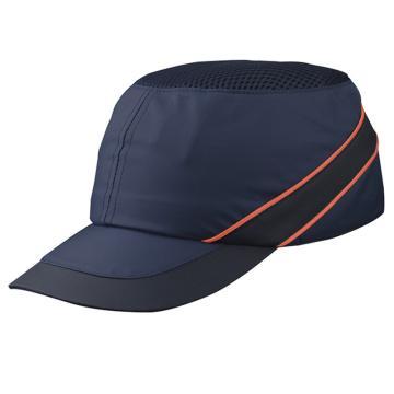 代尔塔DELTAPLUS 运动安全帽,102110-BM,轻型透气防撞 蓝 帽檐7cm AIR COLTAN