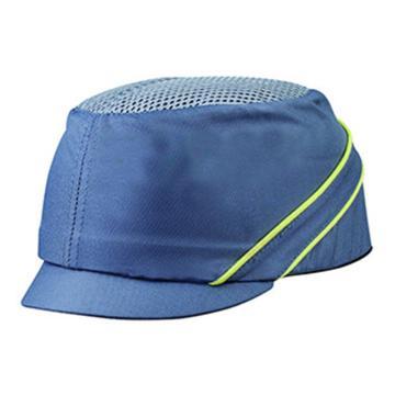 代尔塔DELTAPLUS 运动安全帽,102130,轻型透气防撞 灰色 帽檐3cm,20顶/箱