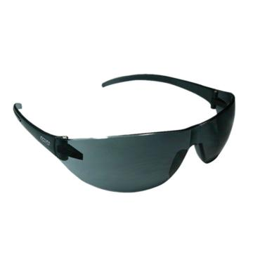 梅思安MSA 防护眼镜,9913278,百固-G防护眼镜 (透明镜脚 防紫外线灰色镜片)