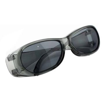 梅思安MSA 防护眼镜,10108313,酷特-G防护眼镜 (透明镜框 防紫外线灰色镜片)