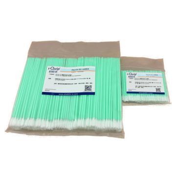 聚酯纤维无尘棉签,头部尺寸:25×13,5×3,5mm,长:125mm,100支/包