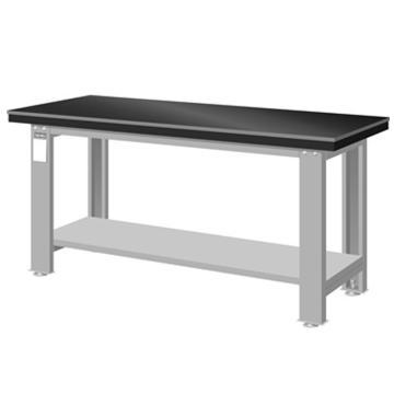 天钢 钳工桌板重量型工作桌,高H*宽W*深D(mm):800*1500*750,桌面:8MM钢板+静音垫+基板,桌面平均承重(kg):1000,WA-57A