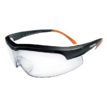 霍尼韦尔Honeywell 防护眼镜,110110,透明镜片防雾眼镜 黑色镜框