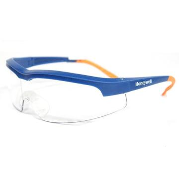 霍尼韦尔Honeywell 防护眼镜,110100,透明镜片防雾眼镜 蓝色镜框