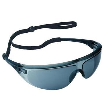 霍尼韦尔Honeywell 防护眼镜,1005986,防雾眼镜 黑色镜框 灰色镜片