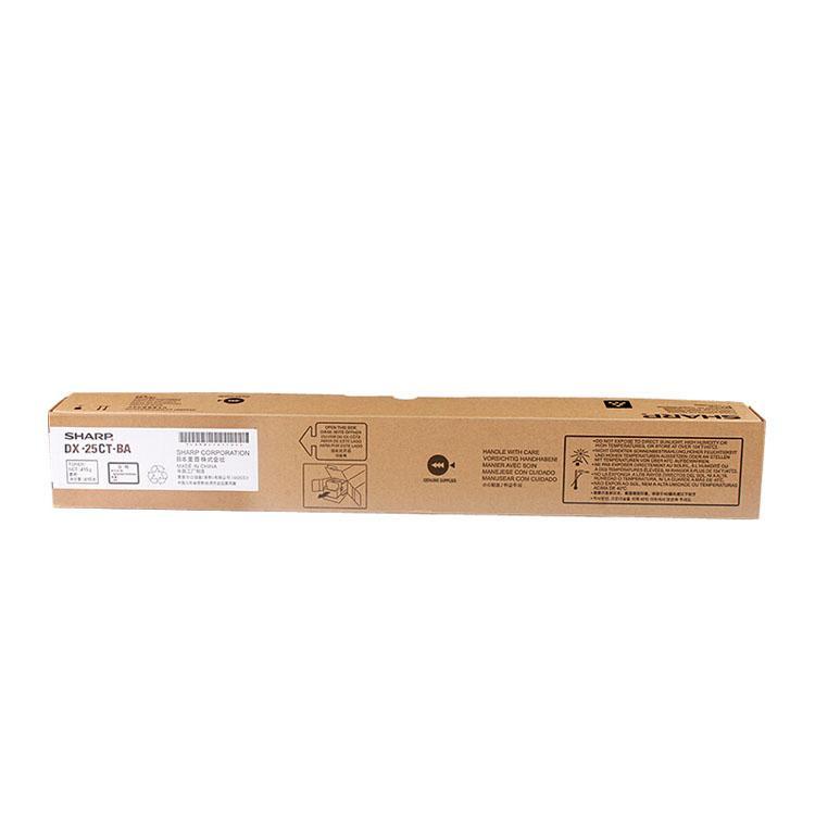 夏普 墨粉,DX-25CTBA黑色 20000頁 適用 DX-2508NC/2008UC彩色復合機 單位:個