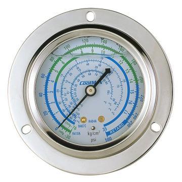 埋入式充油大压力低压表,格美,CM-500-FRG-O-R410,R410