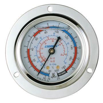 埋入式充油低压表,格美,CM-350-FRG-O