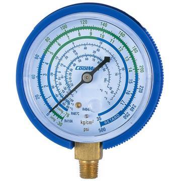 直立式低压表,格美,CM-500-R410-G,R410