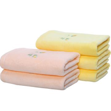 套装, 纯棉绣花毛巾 78x34cm  95g 2入6223A