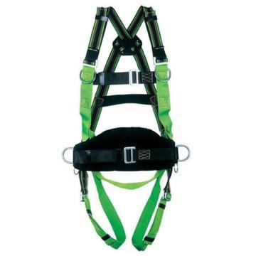 霍尼韦尔Honeywell 带护腰全身式安全带,1002857A,DuraFlex双挂点 M/L