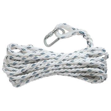 代尔塔DELTAPLUS 安全绳,503315,AN315三股安全绳 14mm 10米