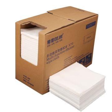 格洁X70高效全能擦拭布,720 070,折叠式 30cm×35cm×260张/盒 4盒/箱 白色 单位:箱