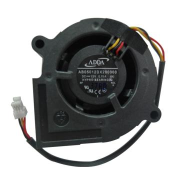 ADDA 投影仪用散热风机 AB05012DX200300,DC12V