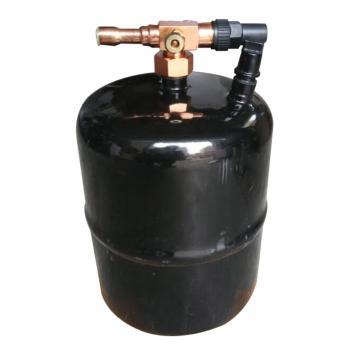 """立式储液器,椰树,LCR-2L,3/8"""" 焊接口,2L,黑色"""