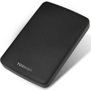 东芝(TOSHIBA) 2.5英寸移动硬盘,包括保护套,新小黑A2系列2TBUSB3.0,单位:个