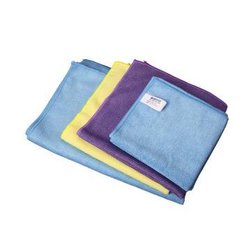 格洁超细纤维擦拭布,840 401,40cm×40cm×1片/包×25片/箱,蓝色 单位:箱