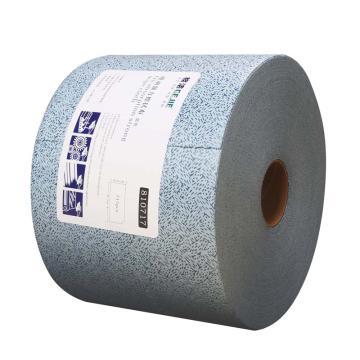 格洁强力吸油擦拭布,810 717,25cm×35cm×717张/卷 1卷/箱 蓝色 单位:箱