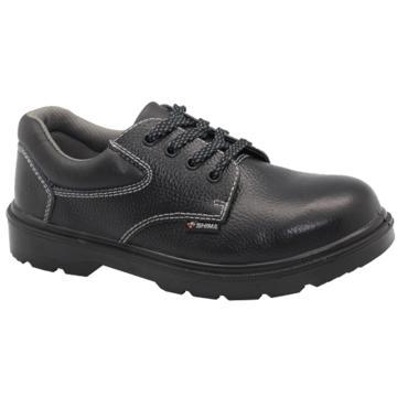 希玛 电工低帮牛皮安全鞋,防砸防滑电绝缘,35,86036