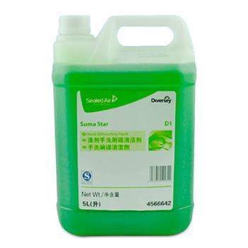 庄臣泰华施涤剂手洗碗碟清洁剂,2 x 5L 单位:箱