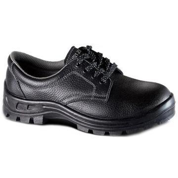 希玛 电工低帮牛皮安全鞋,防砸防滑电绝缘耐酸碱,39,66021(同系列30双起订)