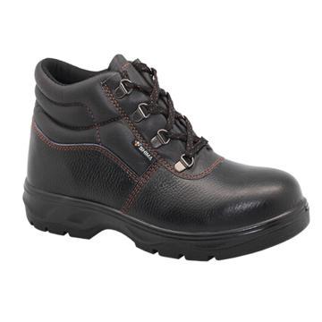 希玛 电工牛皮安全鞋,防砸防滑电绝缘,39,58065(同系列30双起订)