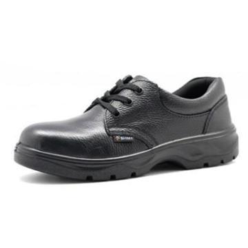 希玛 绝缘安全鞋,56021-46,电工低帮牛皮安全鞋 防砸防滑电绝缘(同系列30双起订)