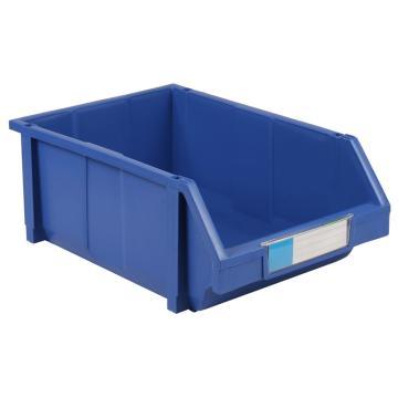 力王 组立零件盒,450*300*177mm,全新料,8个/箱,PK-005-蓝色