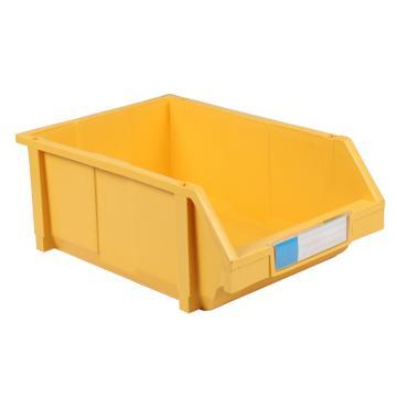 力王 组立零件盒,450*300*177mm,全新料,8个/箱,PK-005-黄色