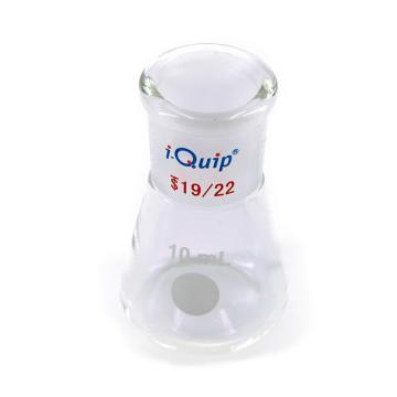 具磨口三角烧瓶,10ml,14/20,1个