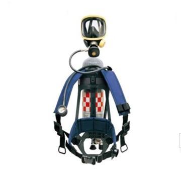 霍尼韦尔Honeywell 空气呼吸器,SCBA123L,C900呼吸器 PANO面罩 6.8L Luxfer气瓶带表