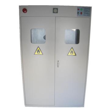 灰色气瓶柜三瓶,带报警尺寸1200*450*1900mm,CLQ103