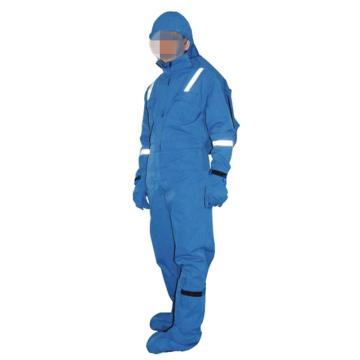 圣欧防电弧连体服,6.5cal,宝蓝色,尺码:L
