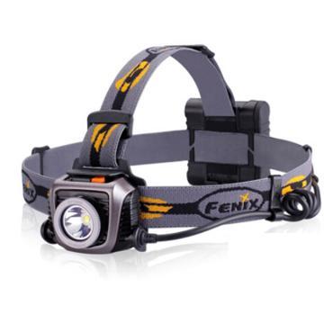 Fenix 菲尼克斯 HP15 UE LED头灯,黑色分体式 900流明 含线扣2个、AA电池4节 单位:个