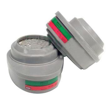 MSA 10120761 优越型面罩配套用滤片,2个/包,GMD(P100),防护氨、甲胺气体及粉尘