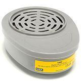 MSA 10120744 优越型面罩配套用滤片,2个/包GMC(OV/AG),防护有机蒸汽和酸性气体