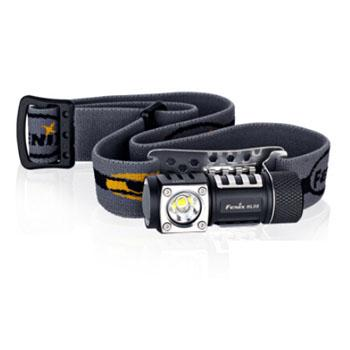 Fenix 菲尼克斯   HL50 XM-L2 T6黑色中白光 户外 双光源 LED防水头灯 365流明 含防水圈、1AA电池延长筒、防脱扣各1个