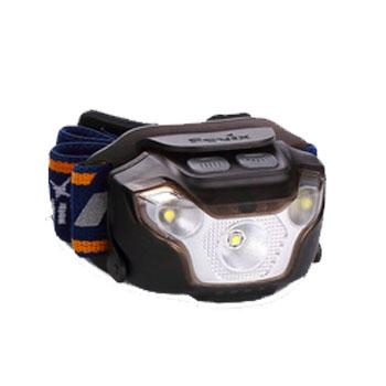 Fenix 菲尼克斯 HL26R黑色充电户外大泛光LED头灯,450流明 含USB充电线 内置电池,单位:个