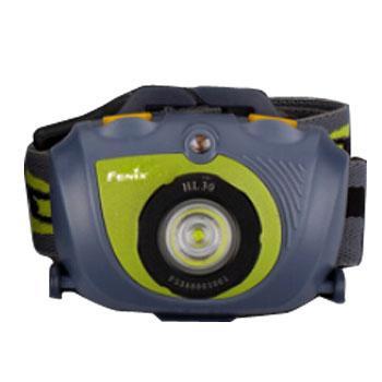 Fenix 菲尼克斯   HL30 2015青草绿头灯 户外双光源 LED防水头灯230流明 含防水圈1 PCS,AA电池2个