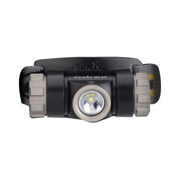 Fenix 菲尼克斯   HL23军灰 全铝合金户外三防LED头灯150流明 含备用O圈、AA电池各1个