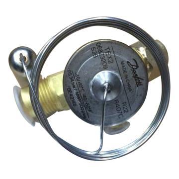 膨胀阀感温元件(带感温包固定卡),丹佛斯,TEX2 068Z3209,R22/外平衡/N系列/不带MOP/喇叭口×喇叭口