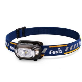 Fenix 菲尼克斯   HL15蓝色户外远射轻便LED头灯200流明 含备用O圈、碱性2*AA电池