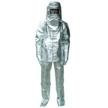 美康 MKF-23-XL 连体隔热服,反辐射热温度1000℃,